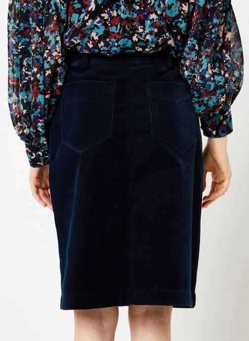Vêtements Suncoo Jupe Felix Bleu vue portées chaussures