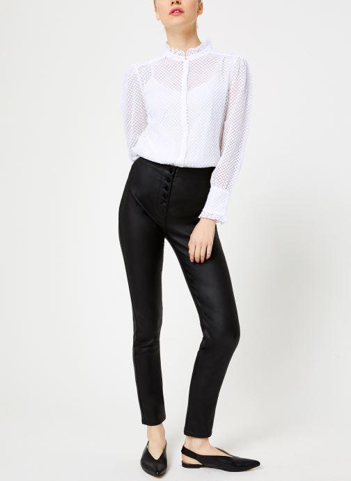 Vêtements Suncoo Jeans Romi Noir vue bas / vue portée sac