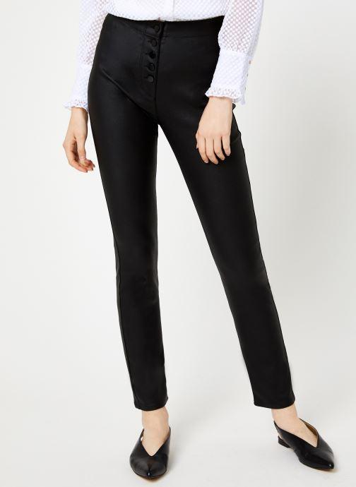 Kleding Suncoo Jeans Romi Zwart detail