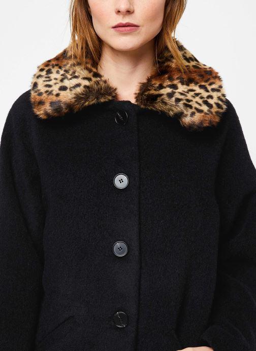 Vêtements Suncoo Manteau Ebony Noir vue face