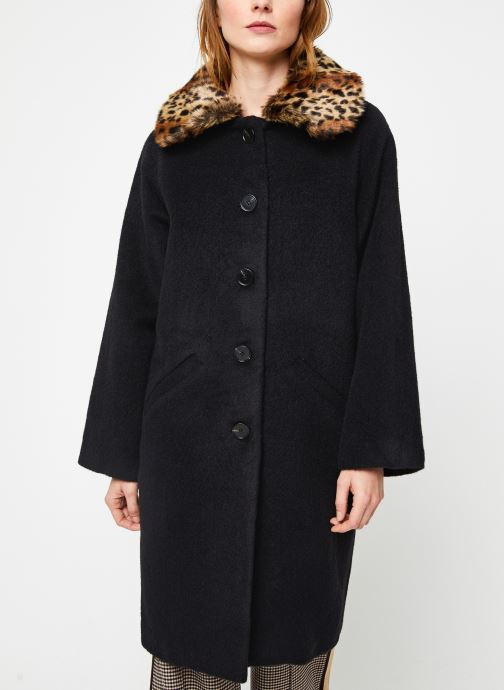 Vêtements Suncoo Manteau Ebony Noir vue droite