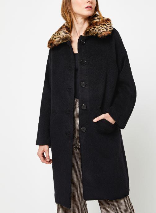 Vêtements Suncoo Manteau Ebony Noir vue détail/paire