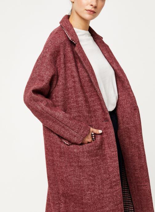 Vêtements Suncoo Manteau Elvis Violet vue détail/paire