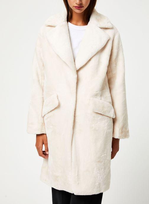 Vêtements Suncoo Manteau Eddie Beige vue détail/paire