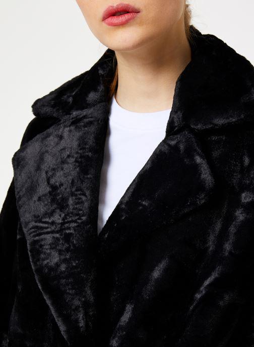 Vêtements Suncoo Manteau Eddie Noir vue face