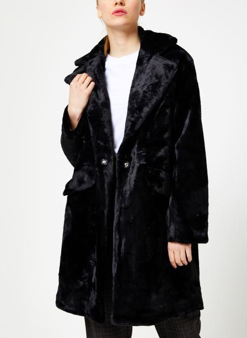 Vêtements Suncoo Manteau Eddie Noir vue détail/paire