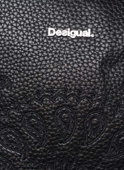 Rucksäcke Desigual SOFT BANDANA VENICE MINI schwarz ansicht von links