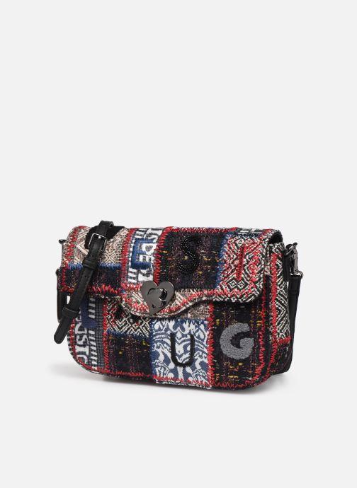 Handtaschen Desigual PATCH 1968 AMORGOS mehrfarbig schuhe getragen