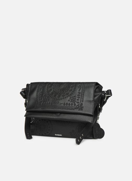 Handtaschen Desigual SOFT BANDANA KIEV schwarz schuhe getragen