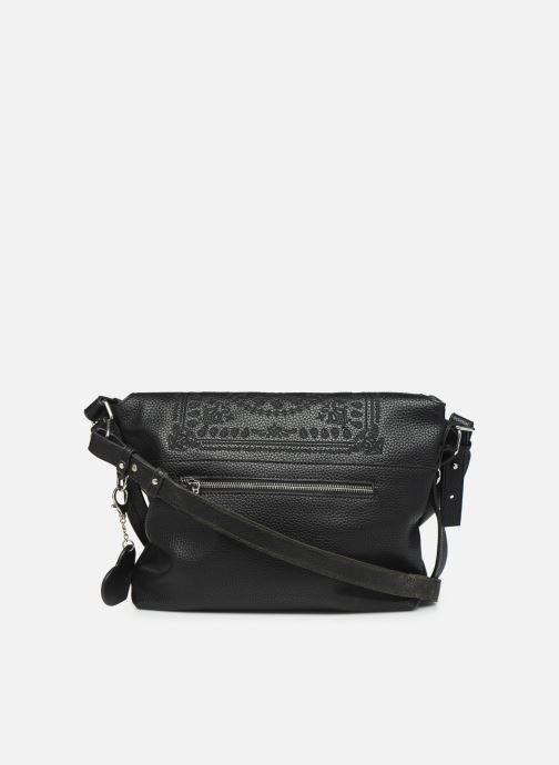 Handtaschen Desigual SOFT BANDANA KIEV schwarz ansicht von vorne