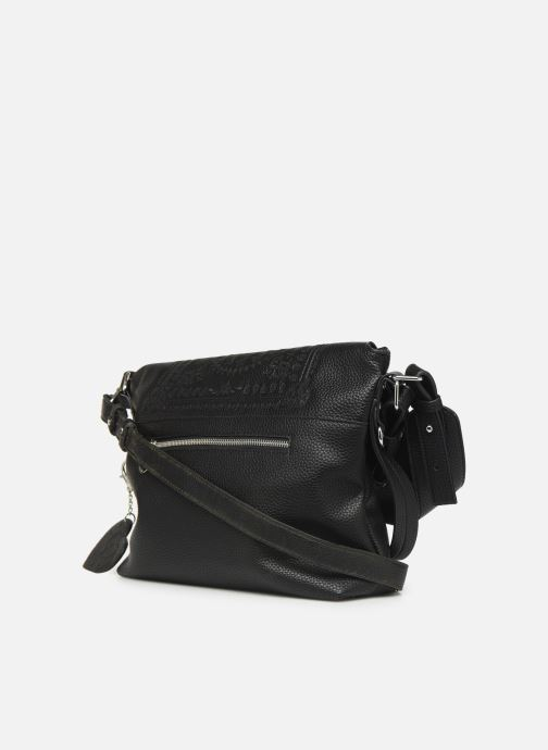 Handtaschen Desigual SOFT BANDANA KIEV schwarz ansicht von rechts