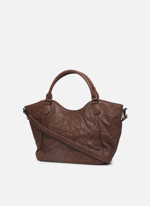 Handtaschen Desigual ALBITA ROTTERDAM braun ansicht von rechts