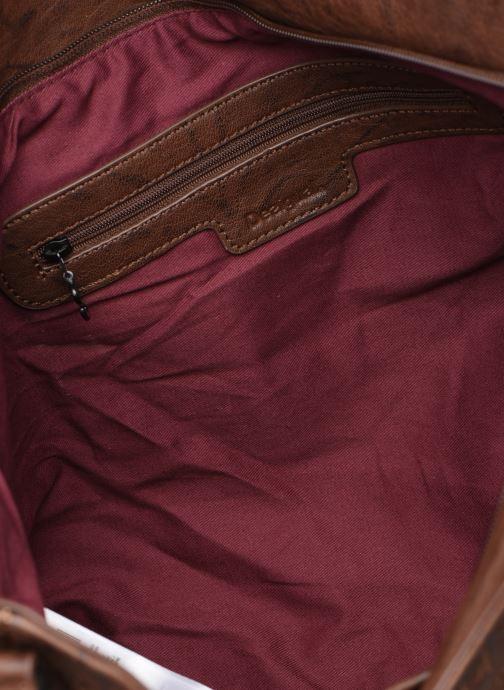 Handtassen Desigual ALBITA ROTTERDAM Bruin achterkant