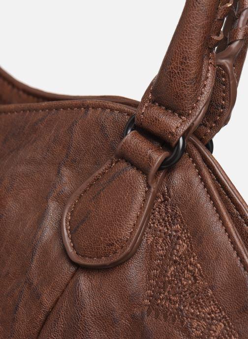 Handtaschen Desigual ALBITA ROTTERDAM braun ansicht von links
