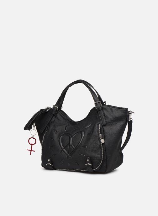 Handbags Desigual LEGEND ROTTERDAM Black model view
