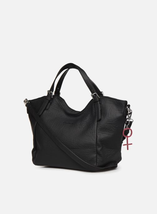 Handbags Desigual LEGEND ROTTERDAM Black view from the right