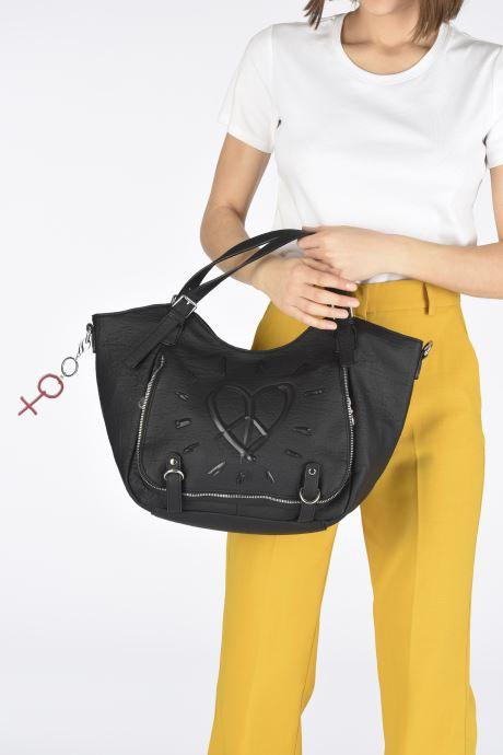 Handbags Desigual LEGEND ROTTERDAM Black view from underneath / model view