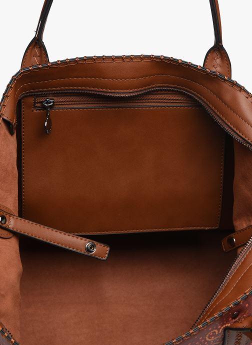 Håndtasker Desigual TEKILA SUNRISE HOLBOX Brun se bagfra
