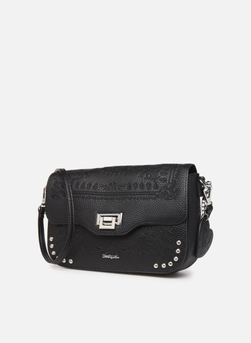 Handtaschen Desigual SOFT BANDANA AMORGOS schwarz schuhe getragen