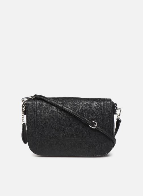 Handtaschen Desigual SOFT BANDANA AMORGOS schwarz ansicht von vorne
