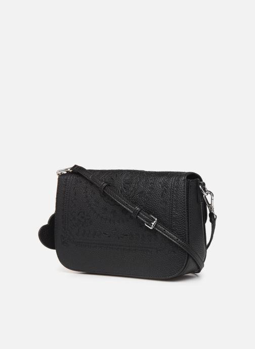 Handtaschen Desigual SOFT BANDANA AMORGOS schwarz ansicht von rechts