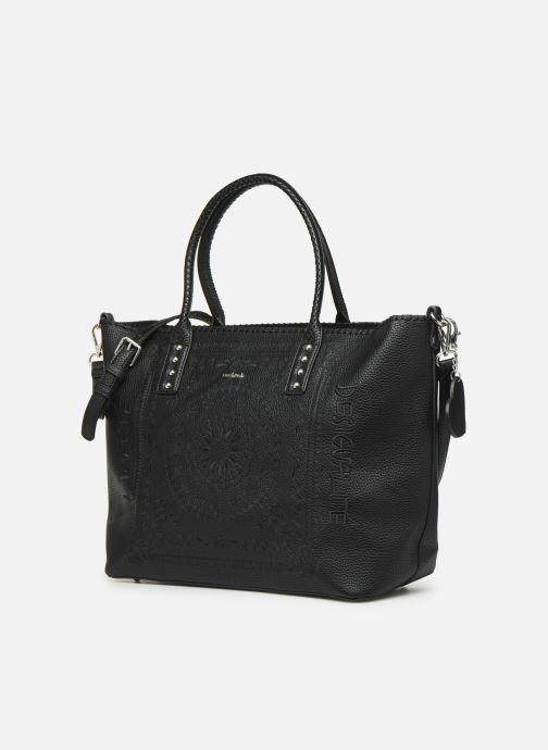 Handtaschen Desigual SOFT BANDANA HOLBOX schwarz schuhe getragen