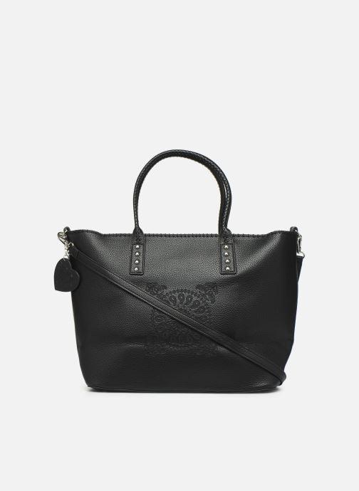 Handtaschen Desigual SOFT BANDANA HOLBOX schwarz ansicht von vorne
