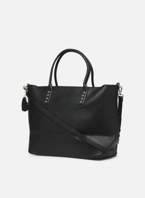 Handtaschen Desigual SOFT BANDANA HOLBOX schwarz ansicht von rechts