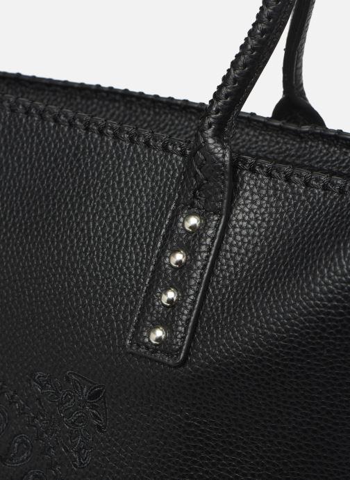 Handtaschen Desigual SOFT BANDANA HOLBOX schwarz ansicht von links