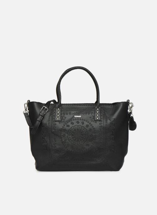 Handtaschen Desigual SOFT BANDANA HOLBOX schwarz detaillierte ansicht/modell