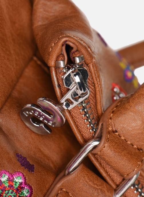 Bolsos de mano Desigual NANIT LOVERTY Marrón vista lateral izquierda