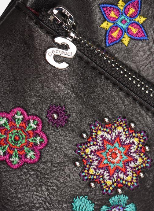 Handtaschen Desigual NANIT KAUA schwarz ansicht von links