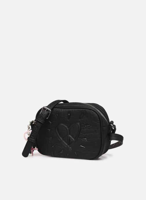 Handtaschen Desigual LEGEND VIRGINIA schwarz schuhe getragen