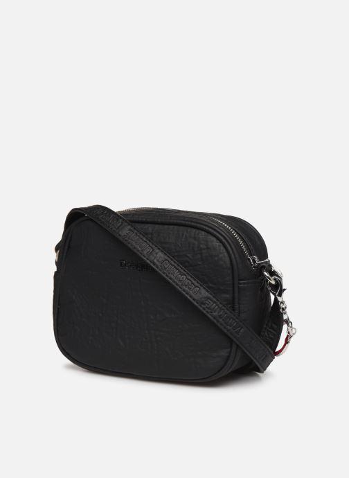 Handbags Desigual LEGEND VIRGINIA Black view from the right