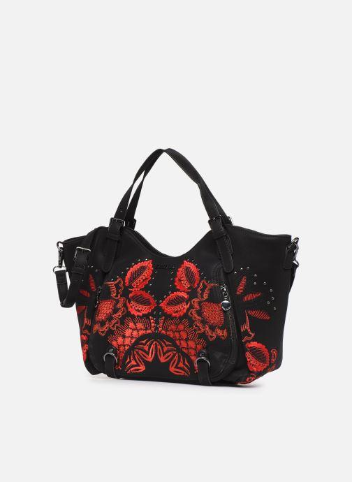 Handbags Desigual GEMINI ROTTERDAM, Black model view