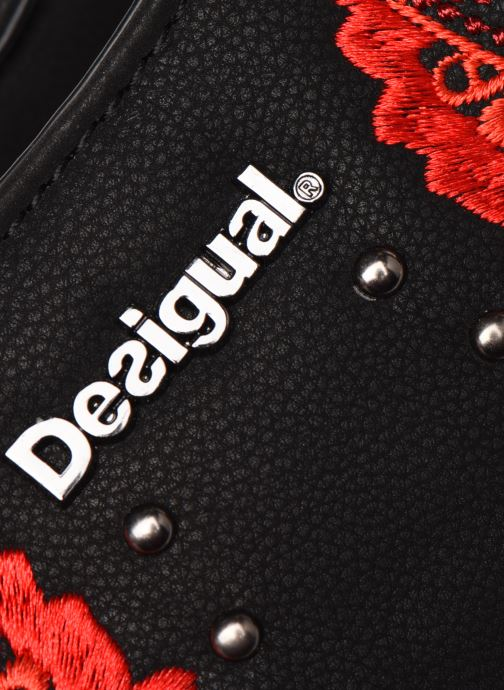 Handbags Desigual GEMINI ROTTERDAM, Black view from the left