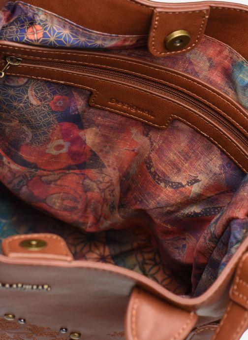 Handtassen Desigual SOFT HENNA SHIBUYA Bruin achterkant