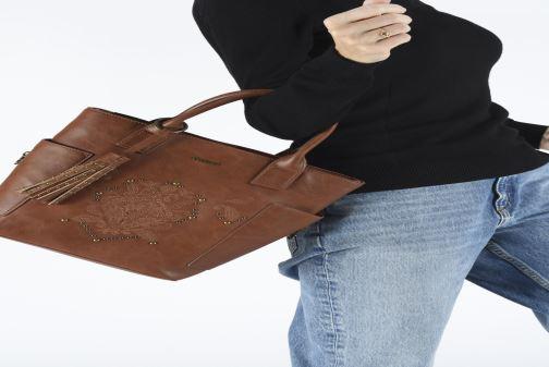 Handtassen Desigual SOFT HENNA SHIBUYA Bruin onder