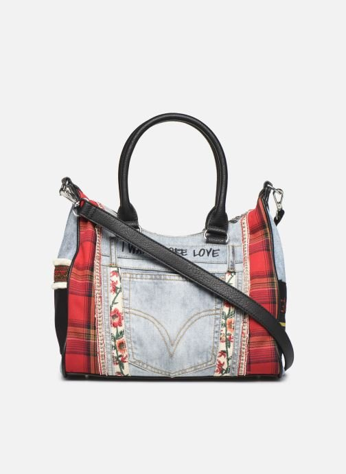 Handtassen Desigual RED DENIM LEEDS Multicolor voorkant