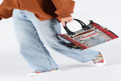 Handtassen Desigual RED DENIM LEEDS Multicolor onder