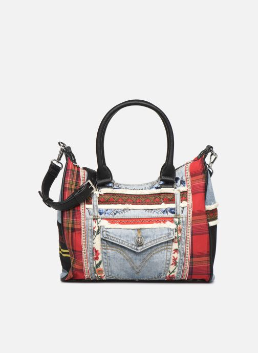 Handtassen Desigual RED DENIM LEEDS Multicolor detail