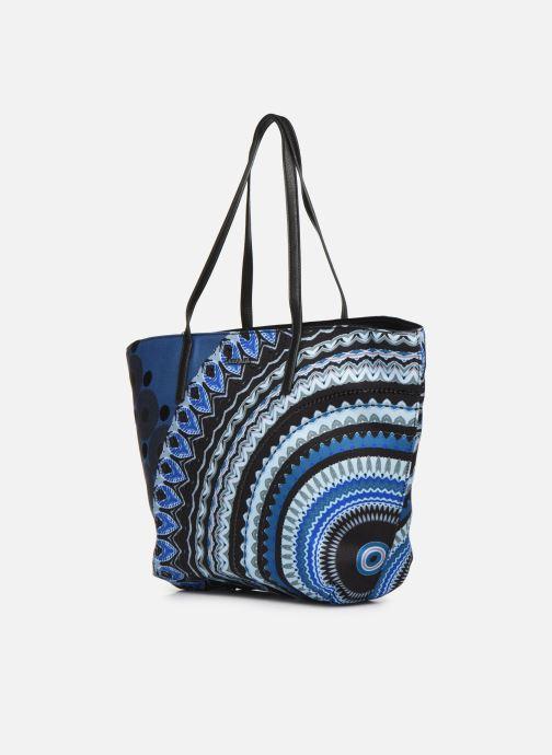 Handtaschen Desigual BLUE FRIEND SICILIA blau schuhe getragen