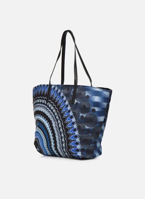 Handtaschen Desigual BLUE FRIEND SICILIA blau ansicht von rechts