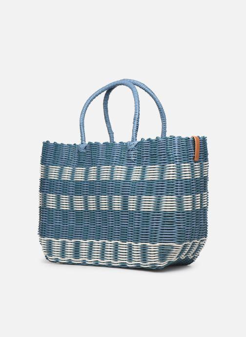Handtassen Esprit Trish shopper Blauw model