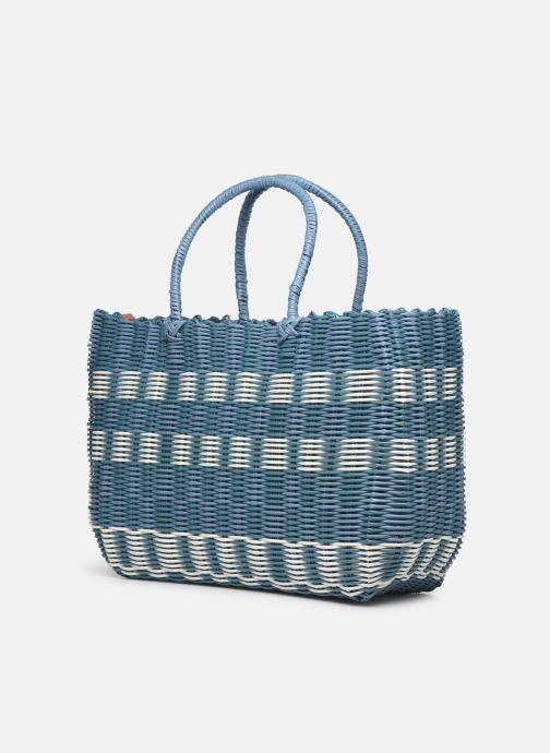 Handtassen Esprit Trish shopper Blauw rechts