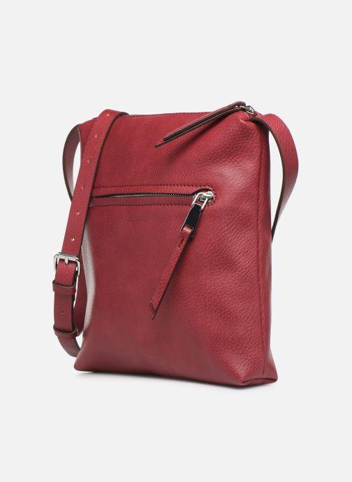 Handtaschen Esprit Tori medshldbag weinrot schuhe getragen