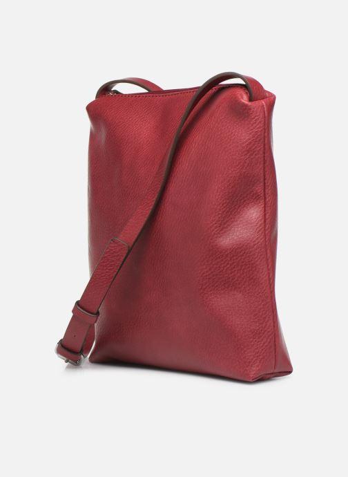 Handtaschen Esprit Tori medshldbag weinrot ansicht von rechts