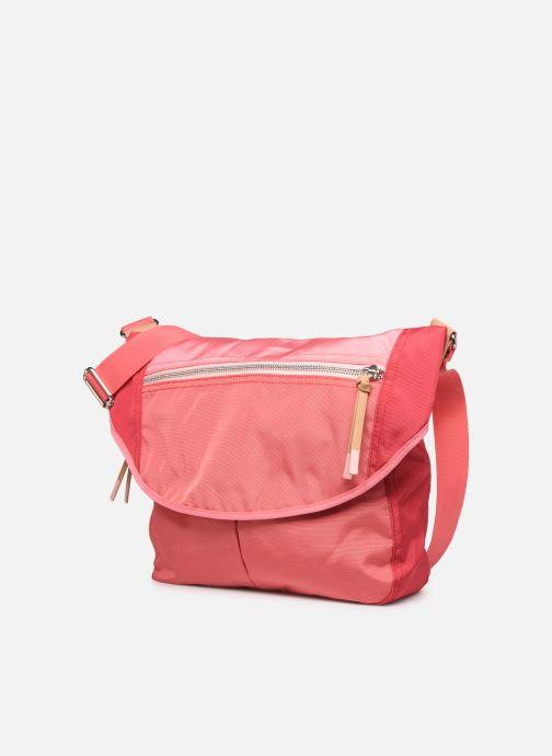 Handtassen Esprit Izumi messenger Roze model
