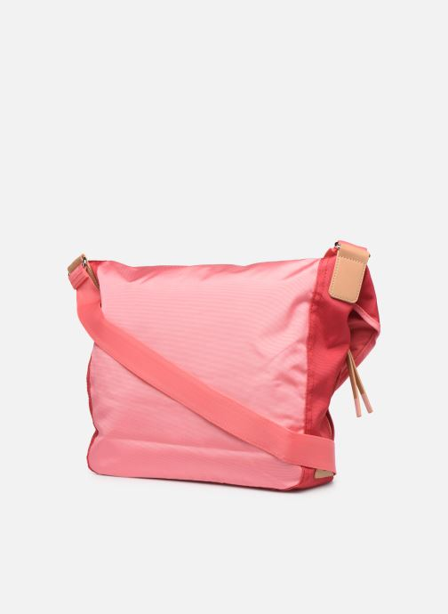 Handtassen Esprit Izumi messenger Roze rechts
