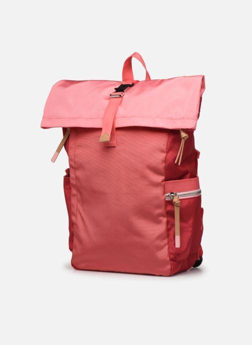 Rucksäcke Esprit Izumi backpack rot schuhe getragen